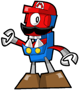 PD Cartoon Mario