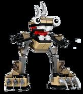LEGO MIXELS Footi Transparent