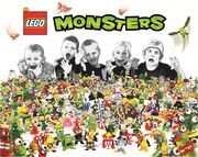 LEGO Monsters concept
