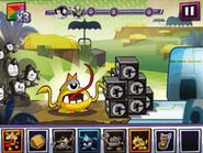 Mixels Rush screenshoot from the instructions