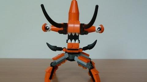 LEGO MIXELS TENTRO and BALK MIX with Lego 41516 and Lego 41517 Mixels Serie 2