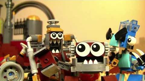 LEGO® Mixels - Junkyard Go-Kart Murp - Stop motion mini movie