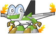 PD Cartoon Paceship