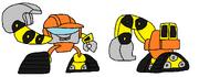 Cyber Krader Digger