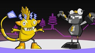 Electroid and Cragsters Max