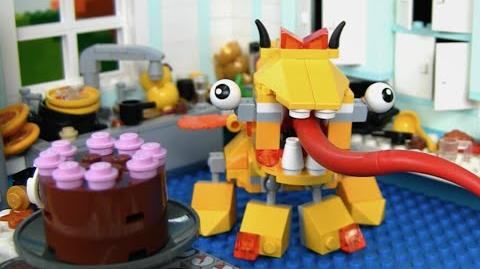 Lixers Max in the Kitchen! - LEGO Mixels - Stop Motion Episode 13