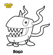 Bogo Coloring Book