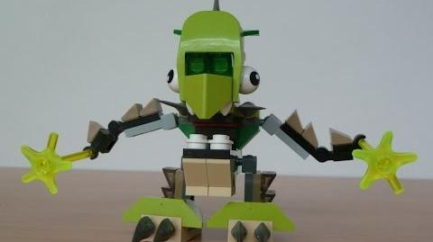 LEGO MIXELS TORTS and FOOTI MURP with Lego 41520 and Lego 41521 Mixels Serie 3