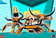 Mixels wall Orange 199x335 thumbnail