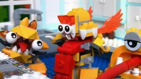 LEGO® Mixels - Lixers Max in the Kitchen! Stop Motion Mini Movie