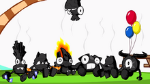 Burnt party
