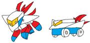 Cyber Bombar Sky Lynx