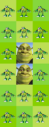 Derekis' Glomp and Shrek Chart