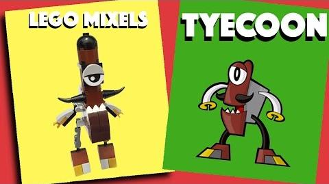 LEGO Mixels -Tyecoon - Stop Motion Build