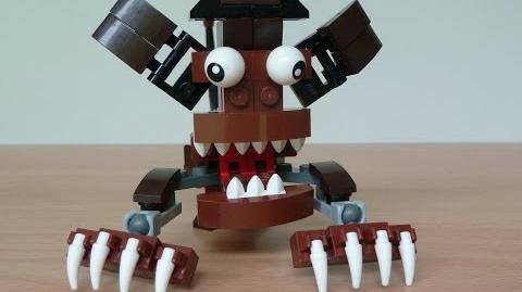 LEGO MIXELS GOBBA and JAWG MURP with Lego 41513 and Lego 41514 Mixels Serie 2