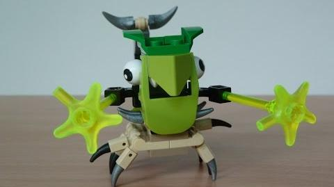 LEGO MIXELS TORTS and SCORPI MIX with Lego 41520 and Lego 41522 Mixels Serie 3