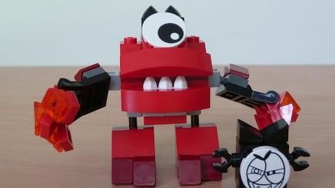 LEGO MIXELS VULK LEGO 41501 Infernites tribe Mixels serie 1