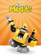 LEGO Mixels Serie6 Theme Button