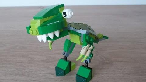 LEGO MIXELS SERIES 10 MOC Instructions T REX DINOSAURZ Tribe