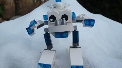 LEGO MIXELS SNOW MIXELS MOC