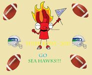 Super Bowl! Go Sea Hawks!