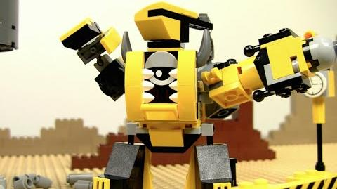 The Weldos MAX at Work! - LEGO Mixels - Stop Motion Episode 14