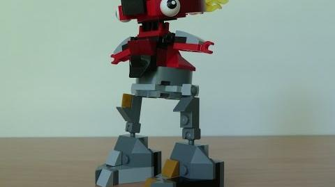 LEGO MIXELS FLAIN and SEISMO MIX with LEGO 41500 and LEGO 41504 Mixels Serie 1