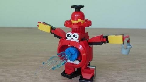 LEGO MIXELS SPLASHO LEGO 41563 MCFD Mixels Series 8