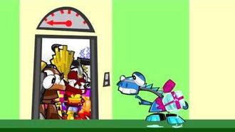 Elevator - LEGO Mixels - Series 2 Episode 9