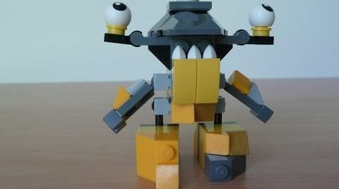 LEGO MIXELS SHUFF and ZAPTOR MURP with LEGO 41505 and LEGO 41507 Mixels Serie 2