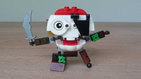 LEGO MIXELS SKULZY LEGO 41567 Pyrratz Mixels Series 8