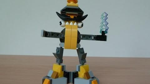 LEGO MIXELS SEISMO and ZAPTOR MIX with Lego 41504 and Lego 41507 Mixels Serie 1