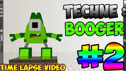 Mixel Modeling - Booger The Glorp Corp Student Mixel (Time Lapse Video)-0