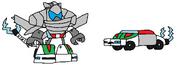 Cyber Teslo Wheeljack