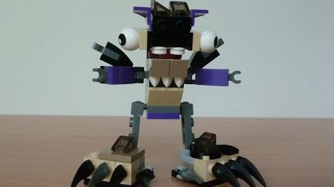 LEGO MIXELS FOOTI and WIZWUZ MURP with Lego 41521 and Lego 41526 Mixels Serie 3
