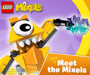 Meet the mixels ad