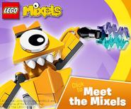 Meet the mixels ad