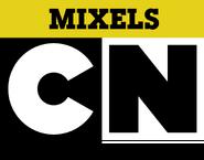 Cartoon Network logo Mixels variant