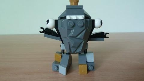 LEGO MIXELS SHUFF LEGO 41505 Cragster Tribe Mixels Serie 1