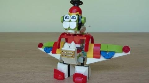 LEGO MIXELS SPLASHO NIKSPUT MIX or MURP? Instructions Lego 41563 Lego 41528