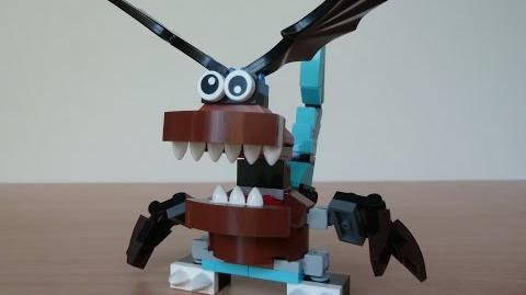 LEGO MIXELS FLURR and GOBBA MURP with Lego 41511 and Lego 41513 Mixels Serie 2
