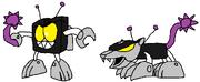 Cyber Nixel 3 Battle Ravage