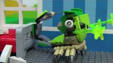 Scorpi and Torts Mix - LEGO Mixels