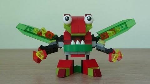 LEGO MIXELS SLUSHO VULK MIX or MURP ? Instructions Lego 41550 Lego 41501