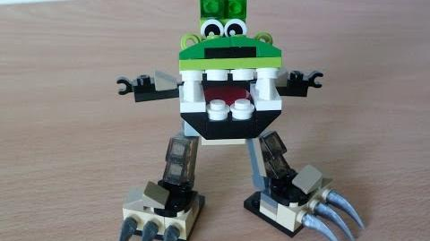 LEGO MIXELS GLOMP and FOOTI MIX with Lego 41518 and Lego 41521 Mixels Serie 3