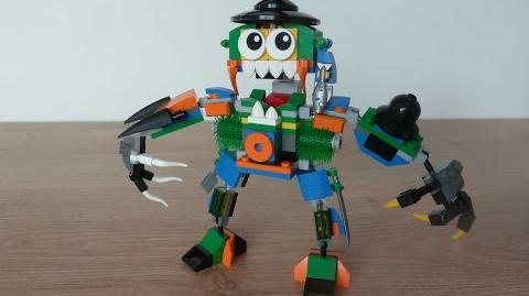 LEGO MIXELS SERIES 9 MEGA MAX MOC Instructions