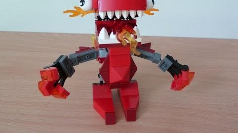 INFERNITES MAX LEGO MIXELS Serie 1 Lego 41500 Flain Lego 41501 Vulk Lego 41502 Zorch