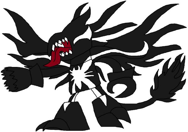 Venom possessing Drazor