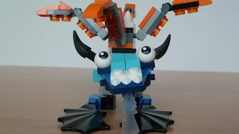 LEGO MIXELS FLURR and TENTRO MURP with Lego 41511 and Lego 41516 Mixels Serie 2