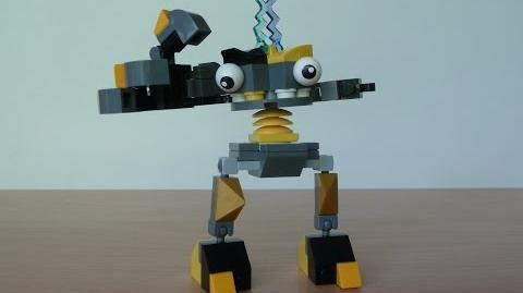 LEGO MIXELS KRADER and ZAPTOR MIX with Lego 41503 and Lego 41507 Mixels Serie 1